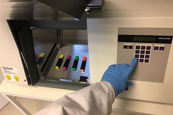 Xenon-Test nach Iso 4892